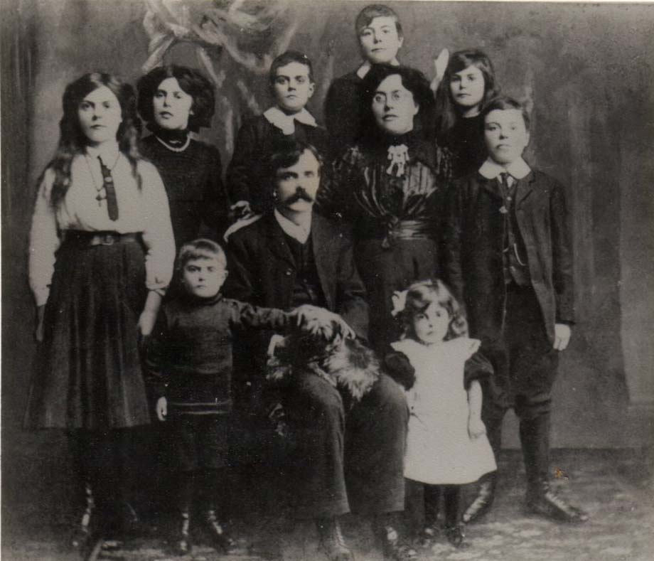Blackwell family in England c. 1910